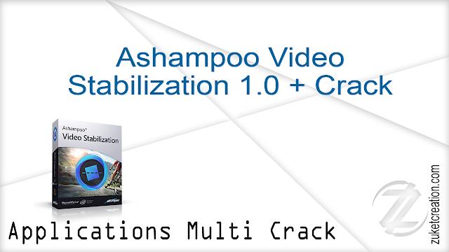 Ashampoo Video Stabilization 1.0 + Crack