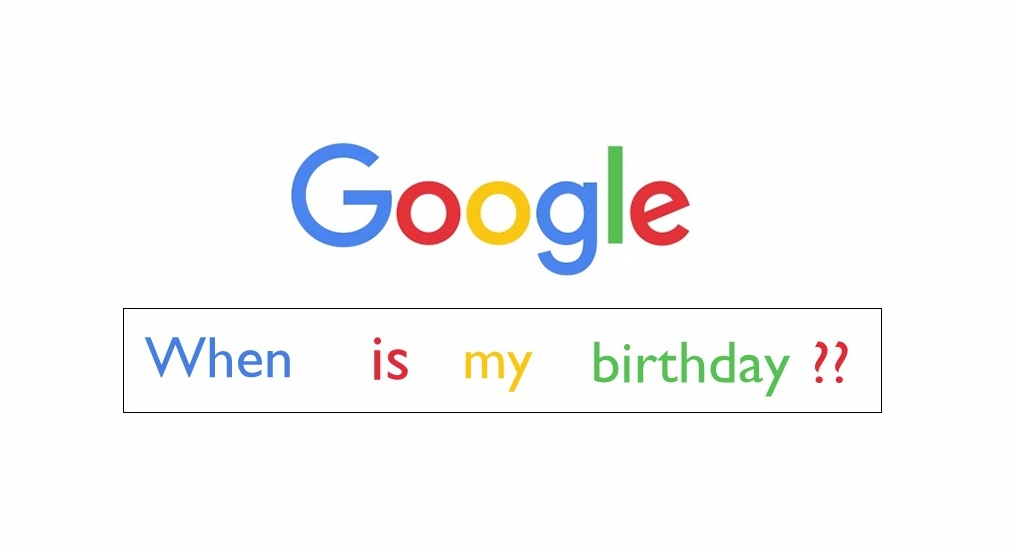 cumpleaños 22 de google