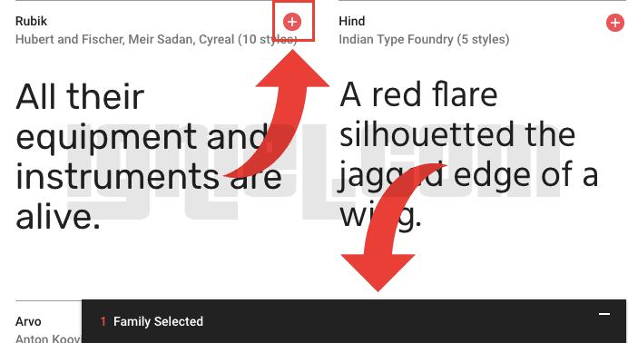 Cara Memanggil Font Eksternal Google di Blog