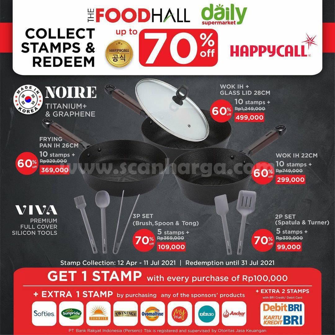 FOODHALL Promo tukar STAMP - dengan Koleksi Peralatan Masak Terbaru dari HAPPYCALL