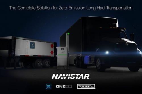 General Motors is looking to hydrogen-powered trucks