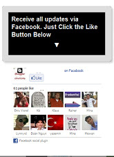 facebook like box for blogger