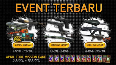 Event Terbaru Point Blank PB Garena Indonesia April 2016