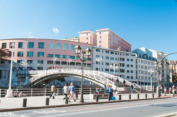 Puente de la Ribera. Bilbao, la ria y sus puentes