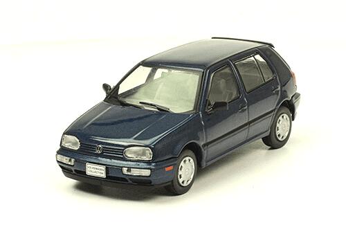 volkswagen Golf III GL 1990 1:43, volkswagen collection, colección volkswagen méxico