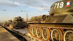Nga đã nhận 34 xe Tank chiến đấu tầm trung T-34 từ lào