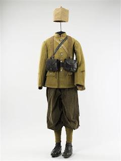 Tenue de sergent du 3e  Régiment de Zouaves