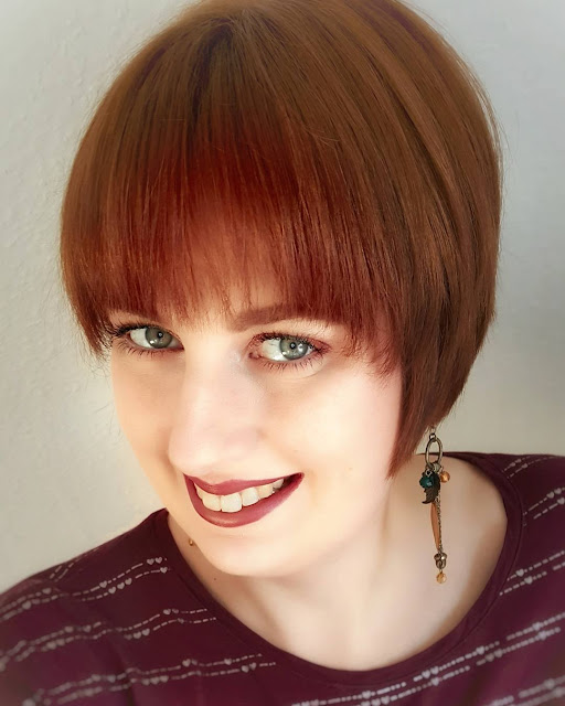 Frisch gefärbte Haare