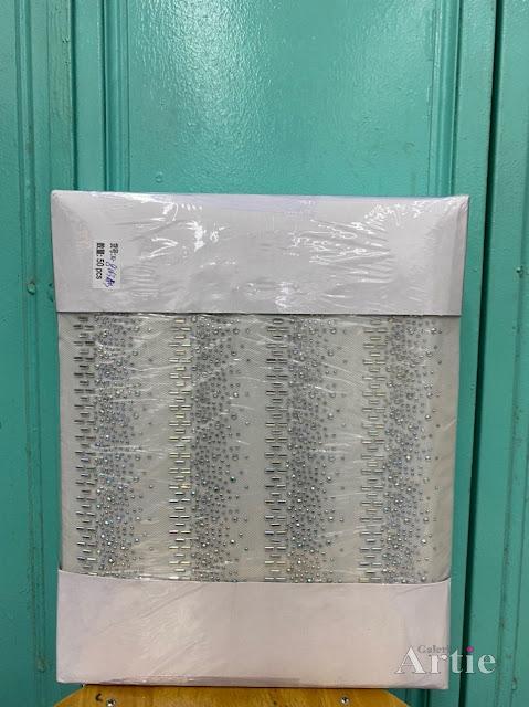 Pelekat Sticker hotfix dmc tudung bawal corak moden dengan efek fade