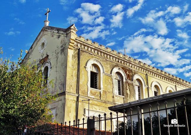 Vista lateral do antigo Noviciado Nossa Senhora das Graças Irmãs Salesianas - Ipiranga