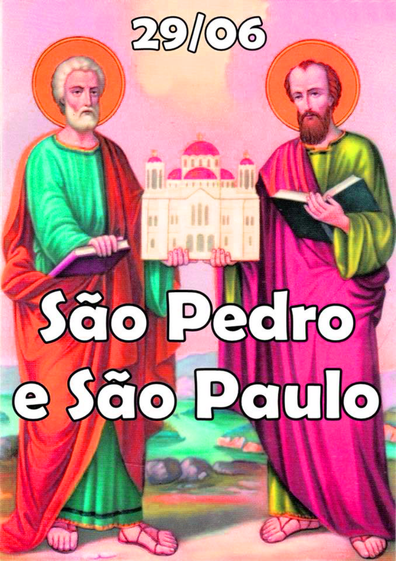 29 de Junho é Dia de São Paulo