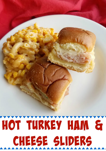 Toasty, melty, tasty sliders filled with ham, turkey and cheese are perfect for so many occasions. They are so easy to make and fun to eat!