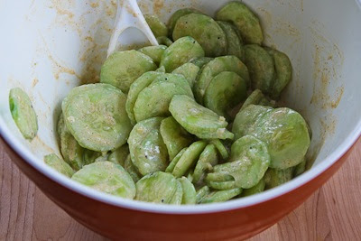 Al's Famous Hungarian Cucumber Salad found on KalynsKitchen.com
