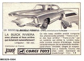 La Buick Rivera, avec phares et feux arrière