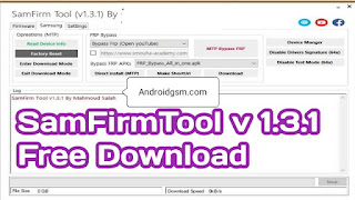 Samfirmtool v1.3.1 Unlock Google Account Remove Tool Latest Update 2020-21 Free Download To AndroidGSM