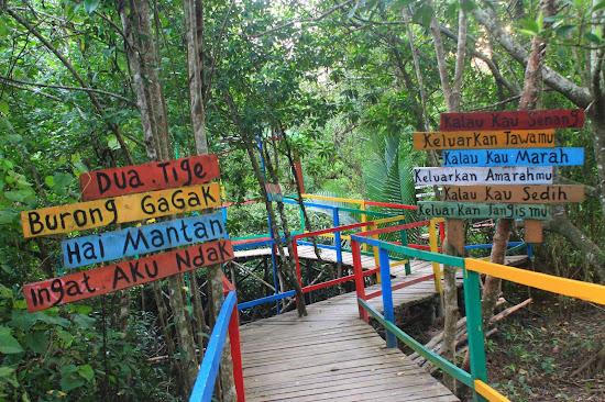 Pemandangan Mangrove Park bakau Besar 9 - Catatan Nizwar ID
