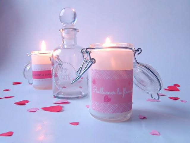 bougies faite maison