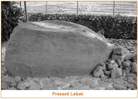 Isi dan Gambar Prasasti Lebak - tujuh prasasti kerajaan tarumanegara