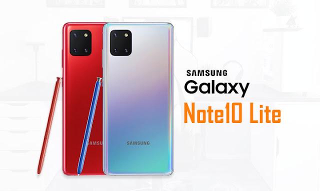 سعر و مواصفات Samsung Galaxy Note10 Lite مميزات و عيوب
