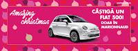 Castiga un autoturism Fiat 500