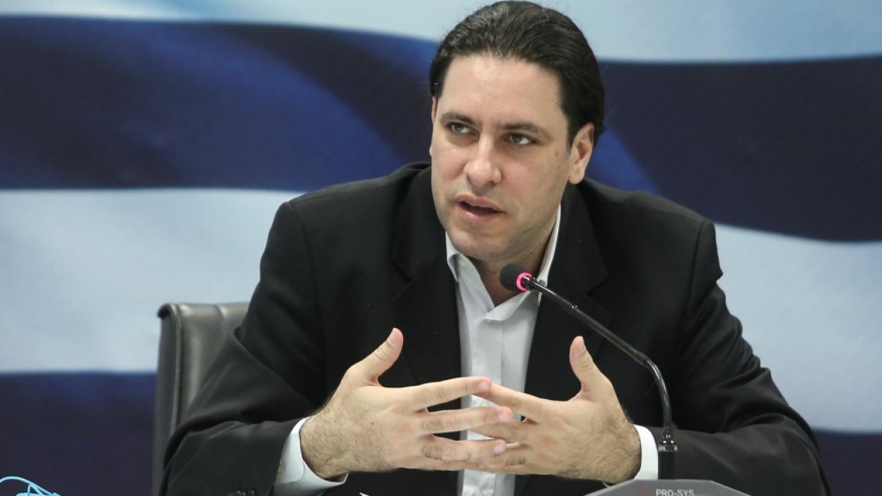 Στη Λάρισα σήμερα σε ενημερωτική εσπερίδα του Επιμελητηρίου ο ειδικός γραμματέας διαχείρισης ιδιωτικού χρέους Φώτης Κουρμούσης
