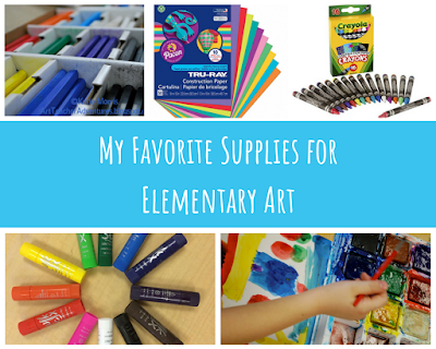 Favorite Supplies for Elementary