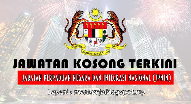 Jawatan Kosong Terkini 2016 di Jabatan Perpaduan Negara dan Integrasi Nasional (JPNIN)