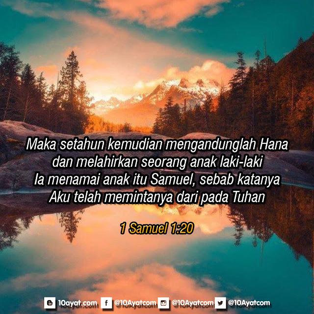 1 Samuel 1:20
