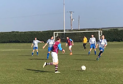 Action from the cup semi-final between Scotter United and Barnetby United on Saturday, February 23, 2019 - see Nigel Fisher's Brigg Blog