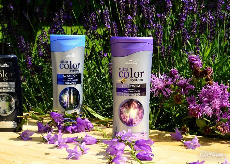 Joanna Ultra Color System odżywka do włosów blond, rozjaśnianych i siwych - recenzja