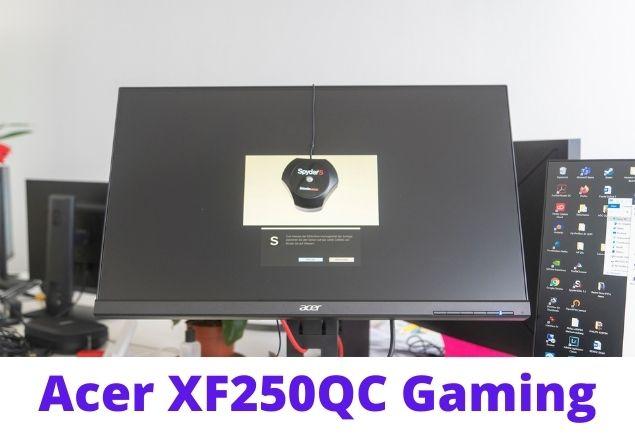 Acer XF250QC RGB