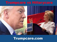 Obamacare, Hillary Clinton healthcare, Trumpcare