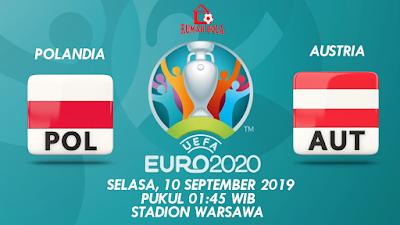Prediksi Polandia vs Austria 10 September 2019