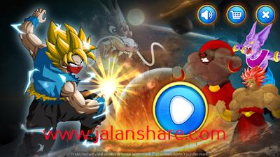 Download Goku Saiyan Battle Mod Apk For Android