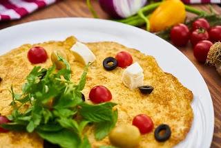 chickpeas omelette