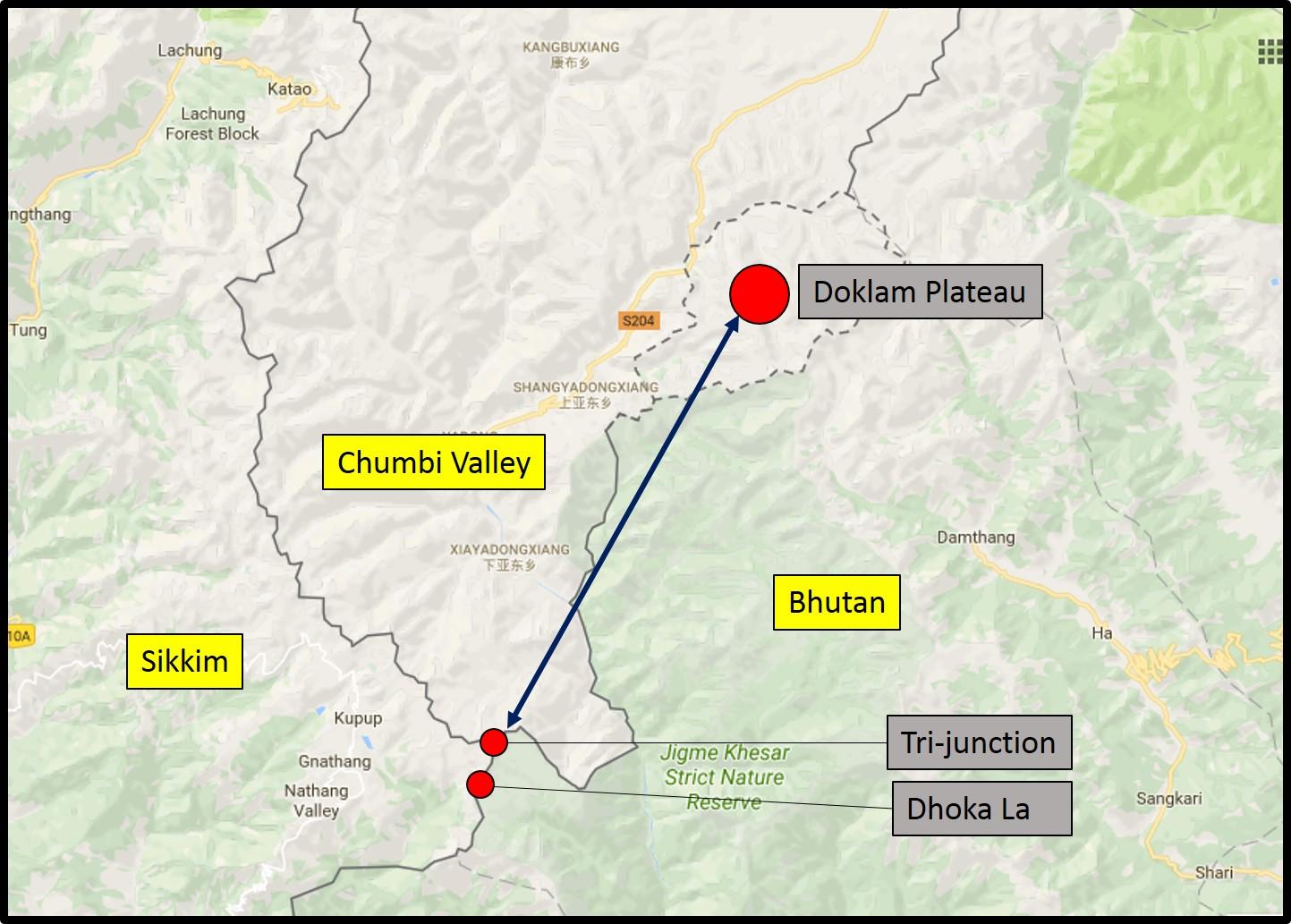 a plateau in india