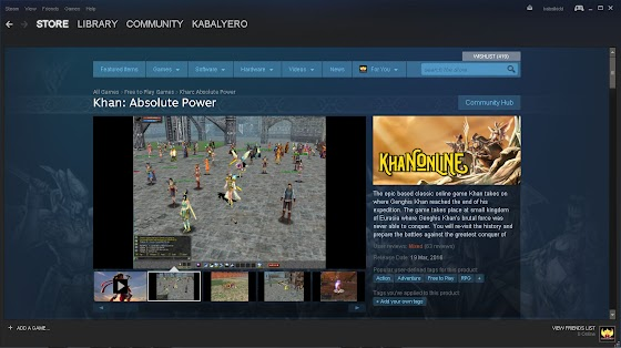 Khan Online STEAM