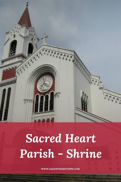 Sacred Heart Parish Church in Kamuning, Quezon City