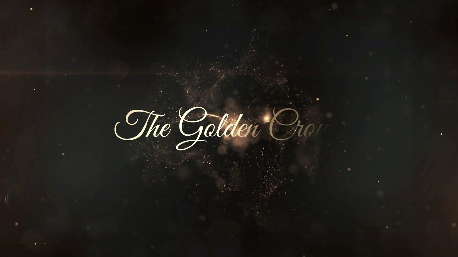golden wedding titles in filmora