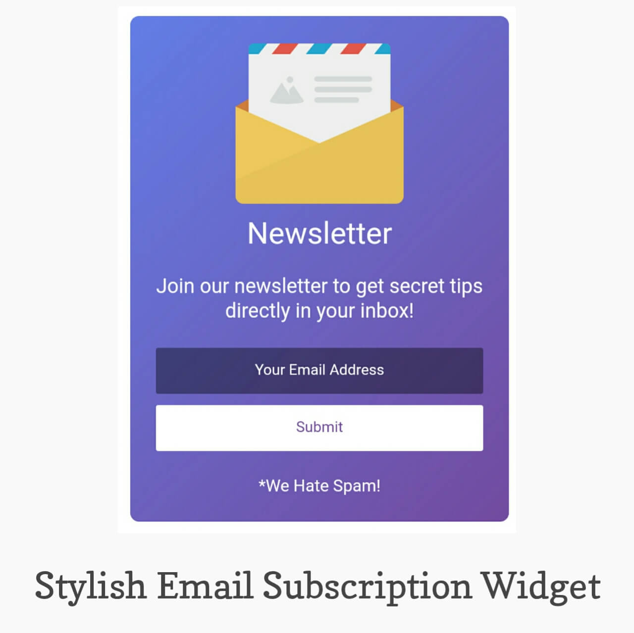 stylish-email-subscription-widget-for-blogger