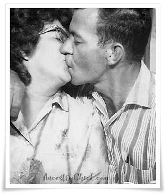 Nana and Pappy Smooches