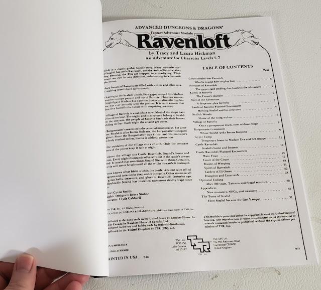 Ravenloft Print on Demand