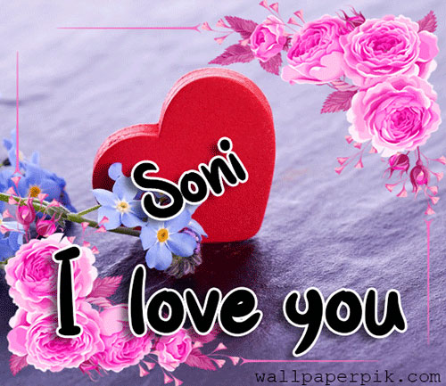 soni  I Love You Images pics wallpaper pictures free hd