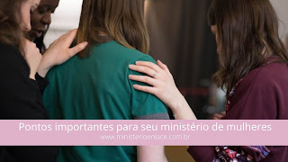 ministério de mulheres