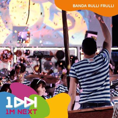 festa del lavoro a Roma : anche la Banda Rulli Frulli
