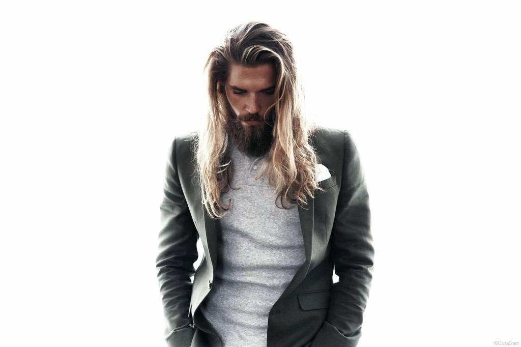Macam model rambut panjang untuk pria
