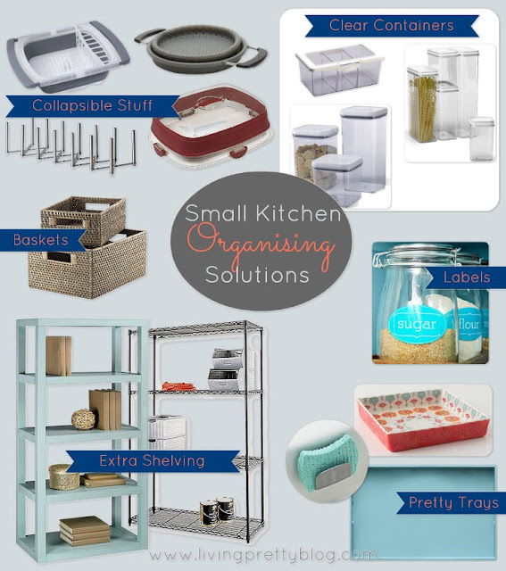 Useful products for organising small kitchens