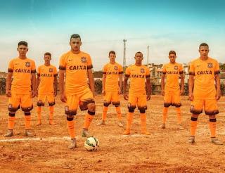 Camiseta Laranja Corinthians