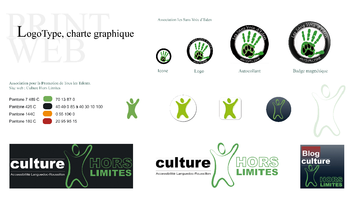 Logo type, charte graphique ...
