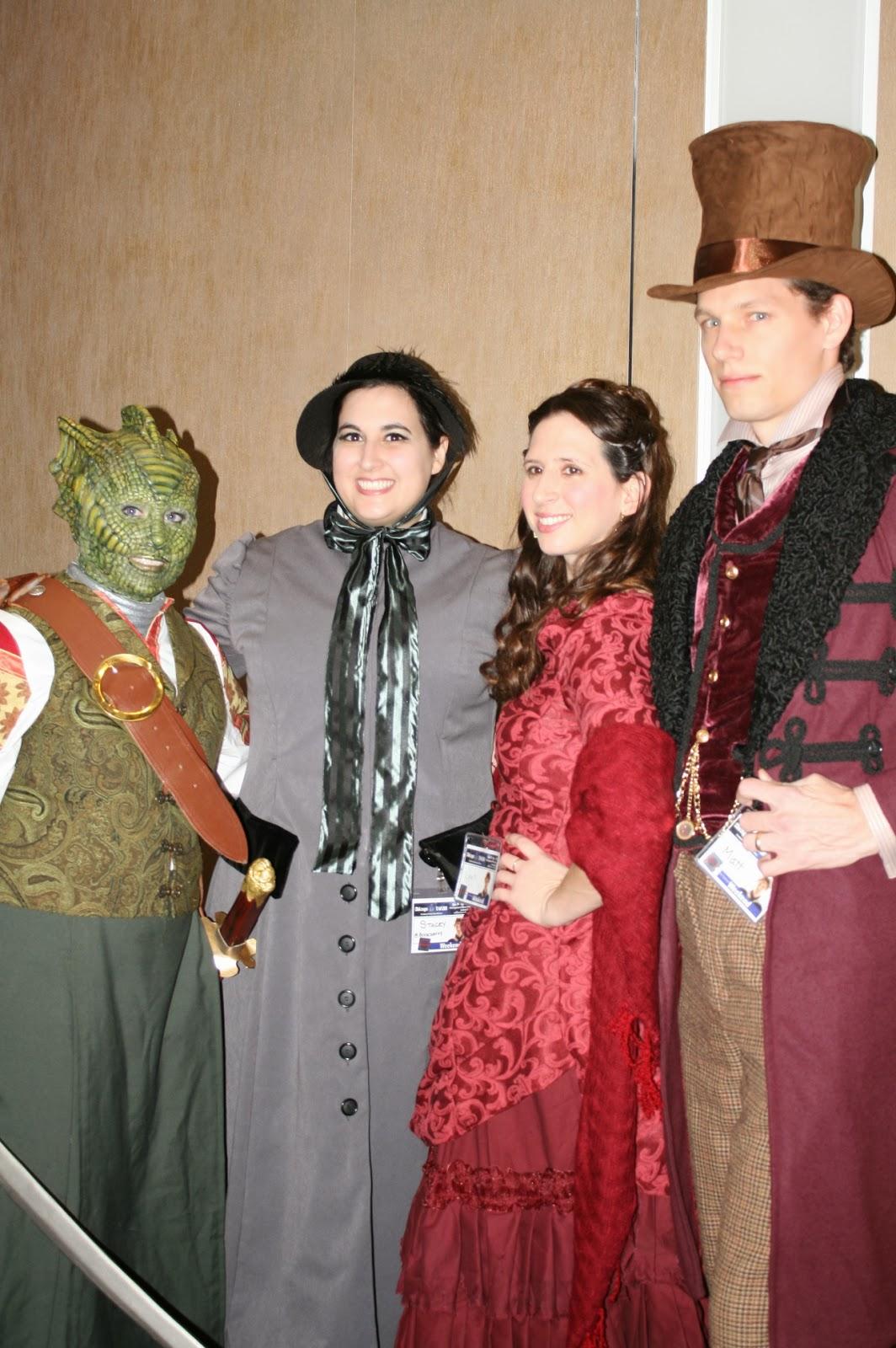 Vastra Jenny Clara Doctor  sc 1 st  The Casual Costumer & The Casual Costumer: Chicago TARDIS 2013